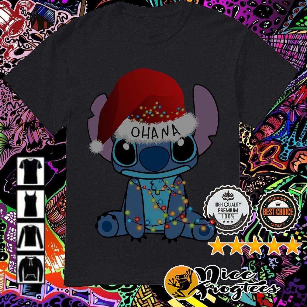 Stitch Ohana Christmas shirt