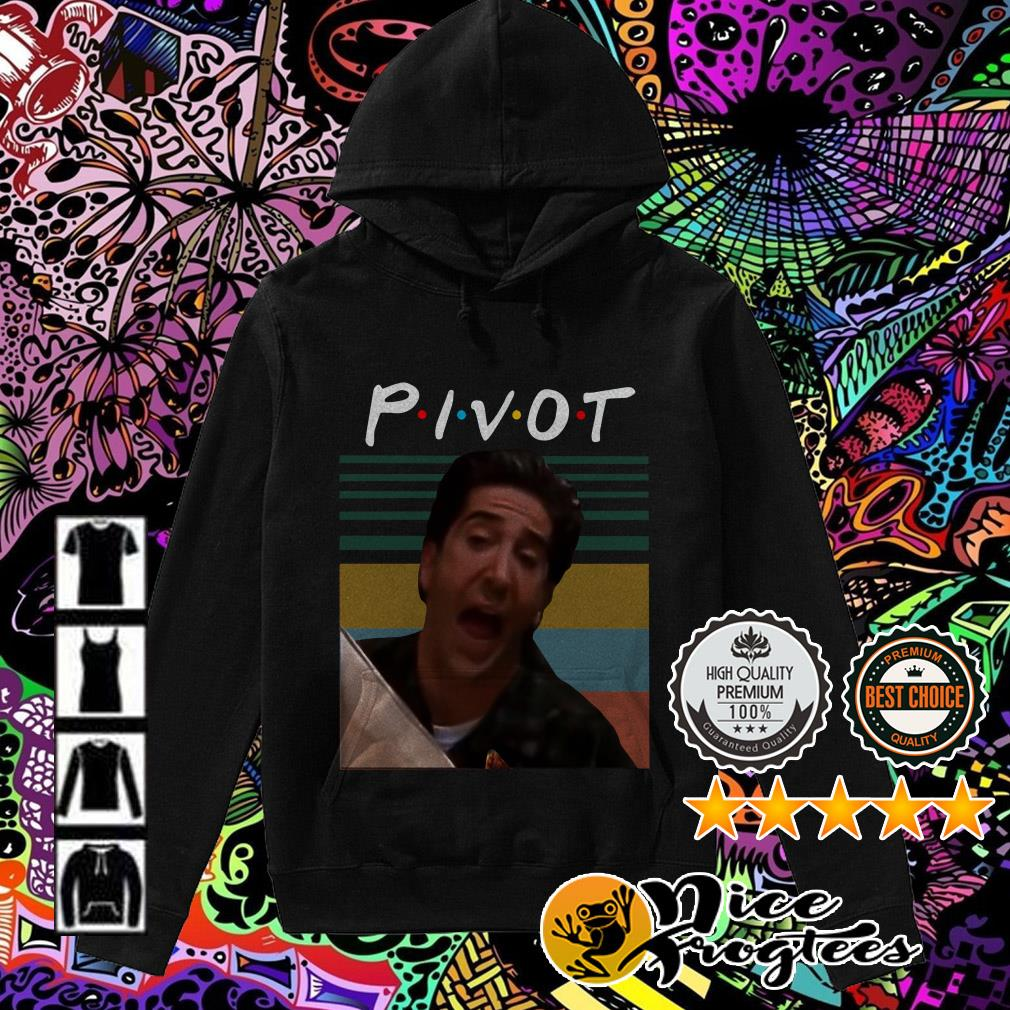 Vintage Ross Geller Pivot Friends TV Show Hoodie