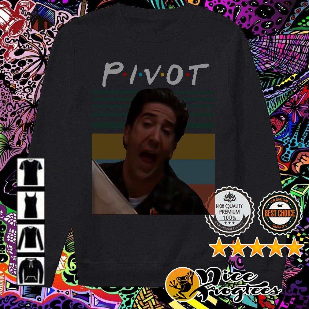 Vintage Ross Geller Pivot Friends TV Show Sweater