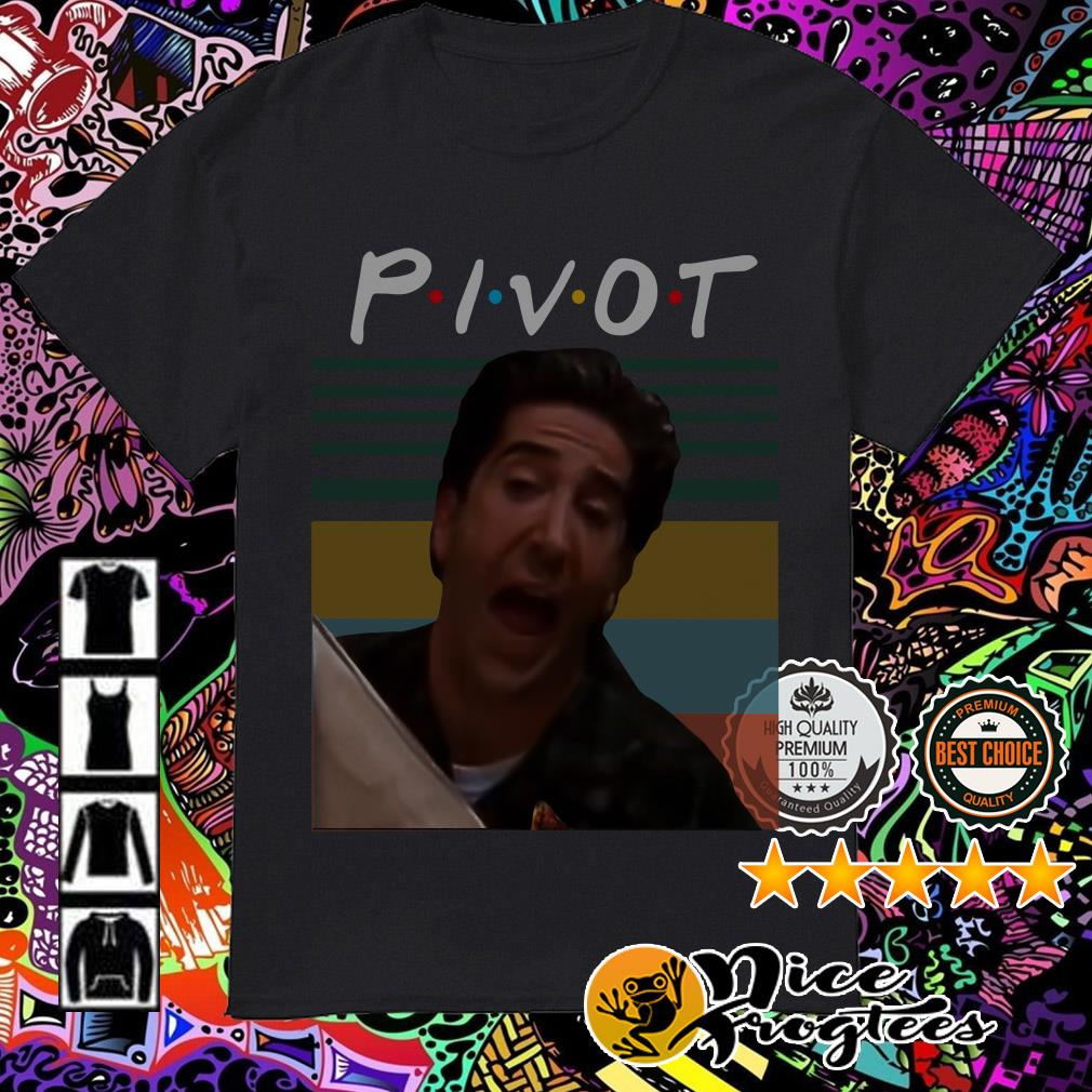 Vintage Ross Geller Pivot Friends TV Show shirt
