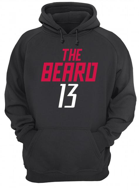 13 James Harden The Beard  Unisex Hoodie