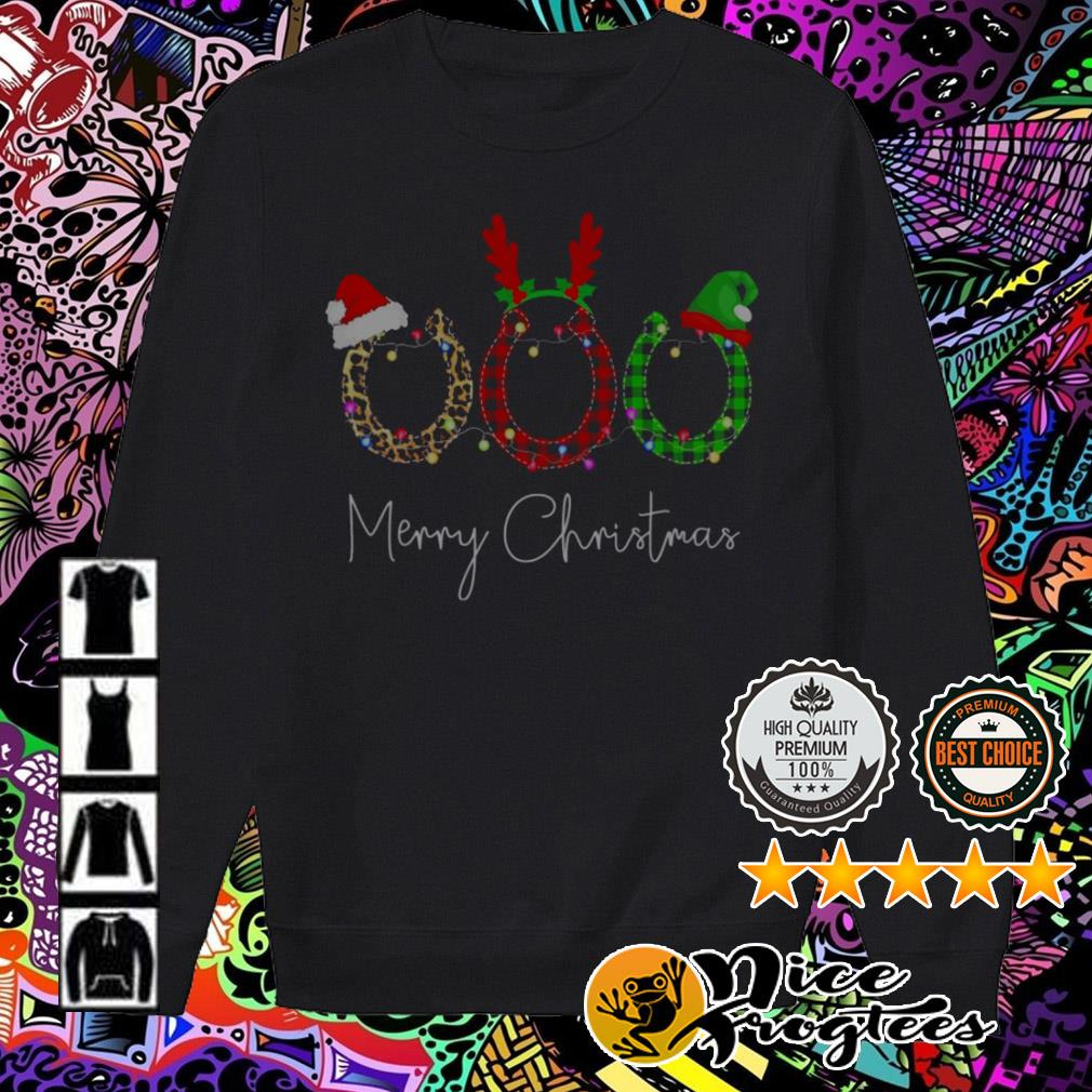 Arc magnets Santa reindeer Merry Christmas sweater