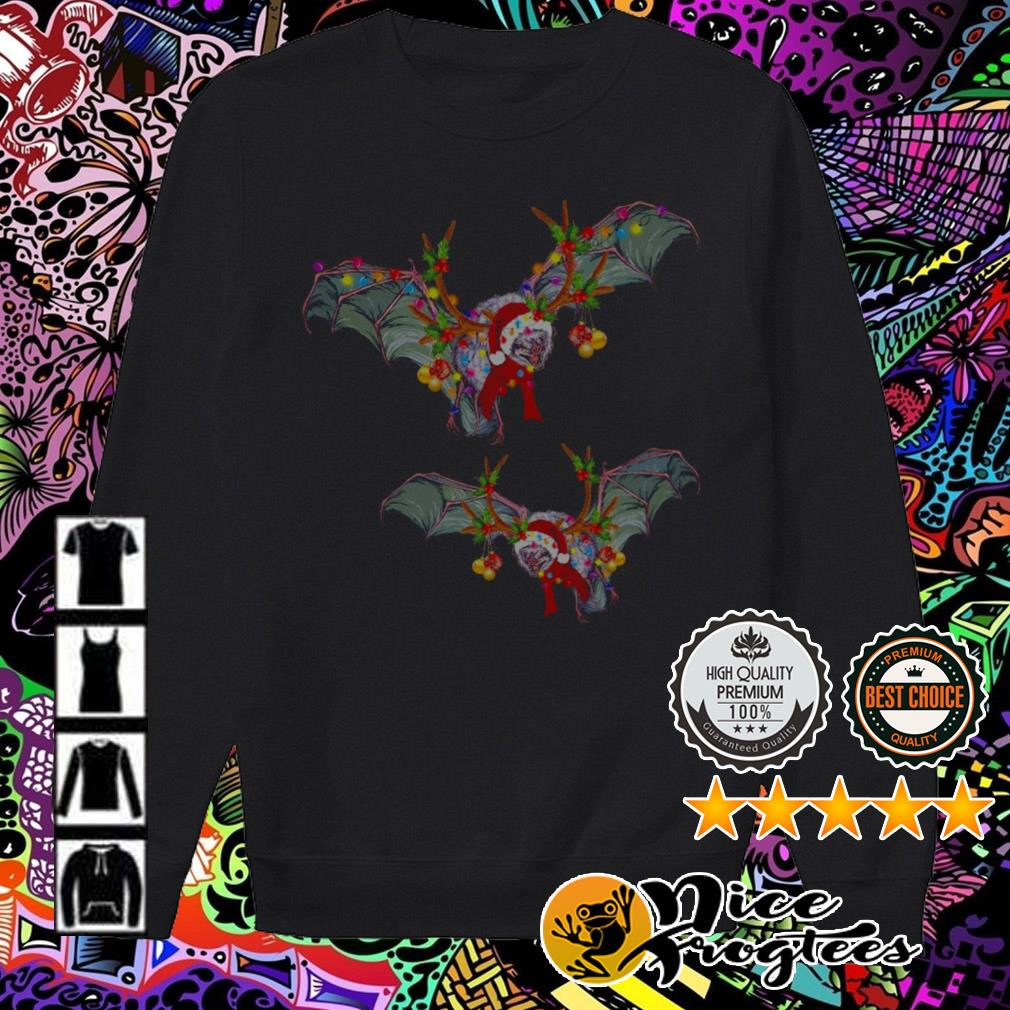 Bats Gorgeous reindeer Christmas sweater