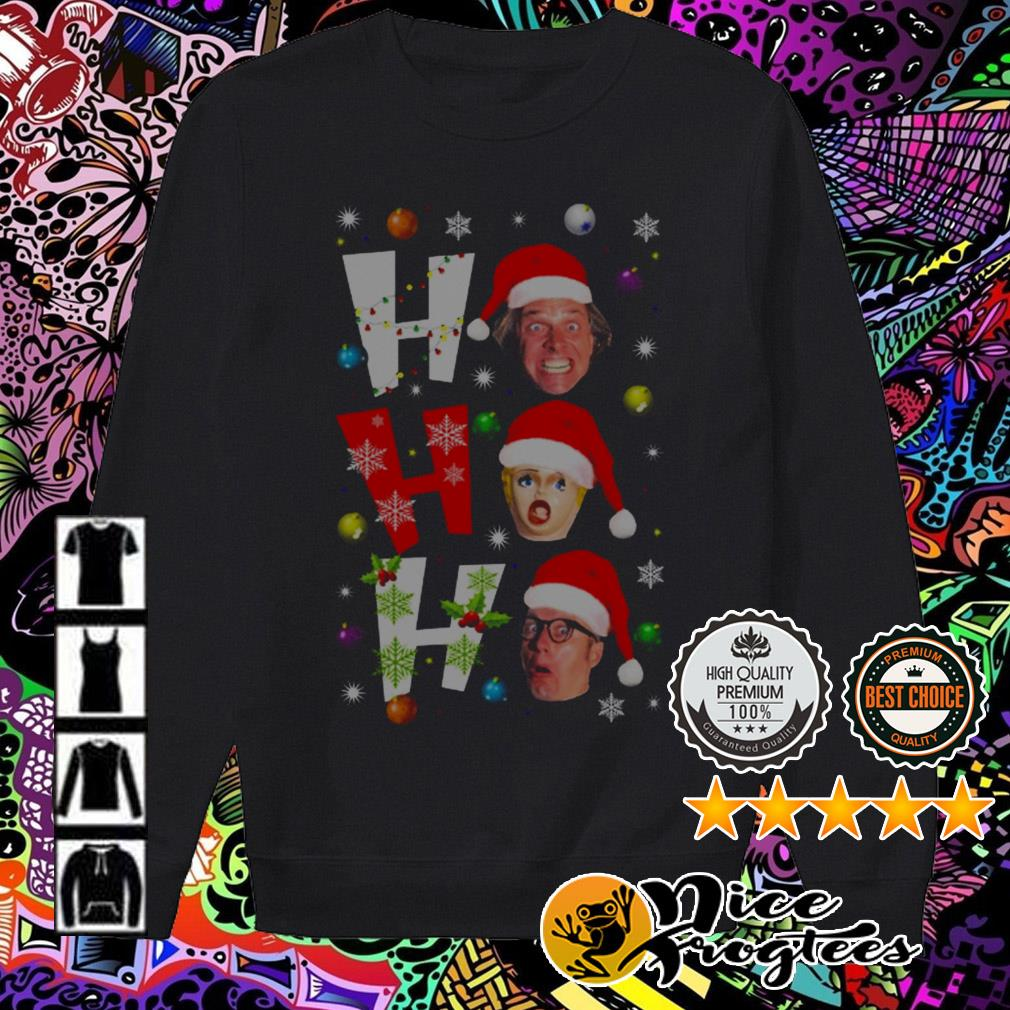 Bottom ho ho ho Christmas sweater