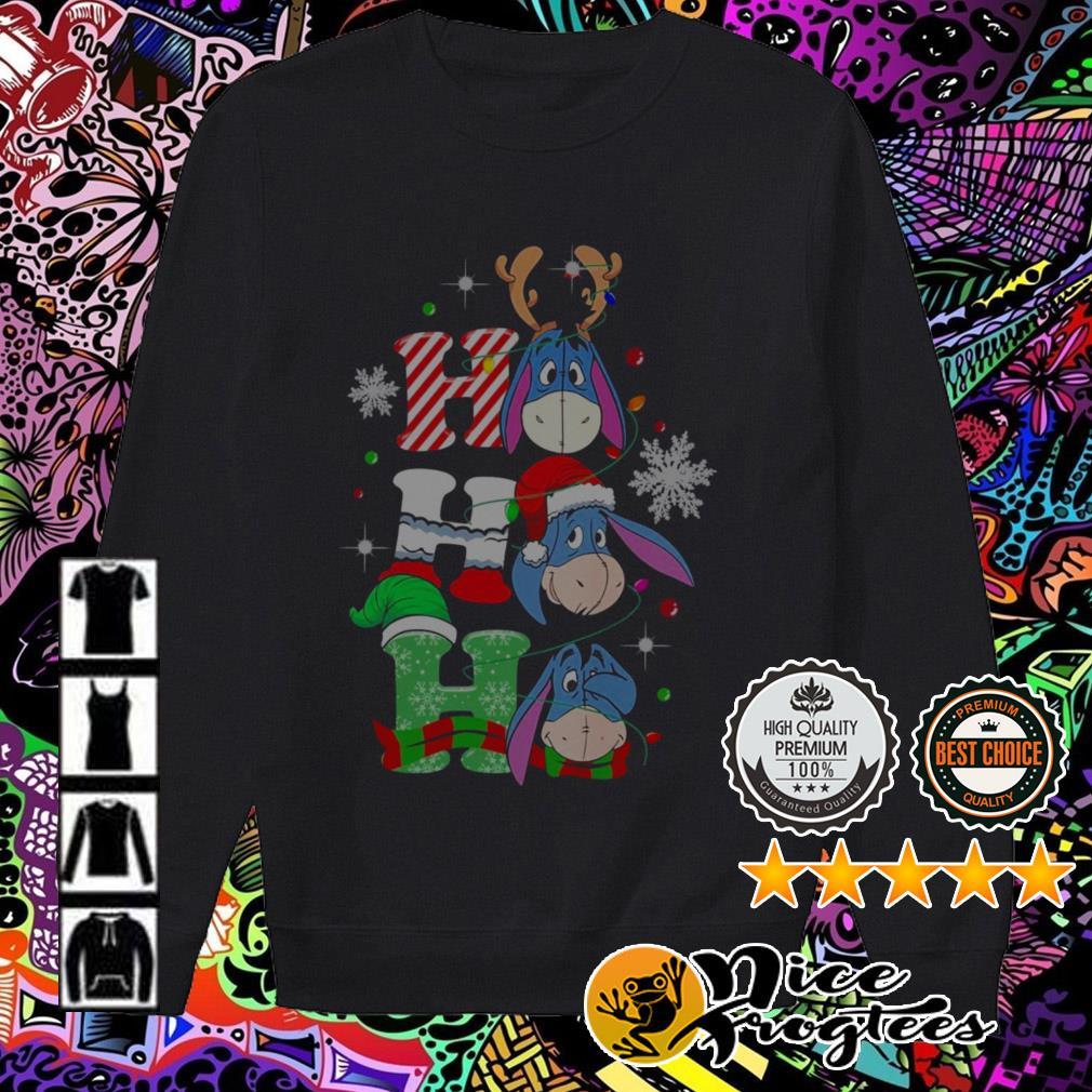 Donkey Santa reindeer Ho Ho Ho Christmas Sweater
