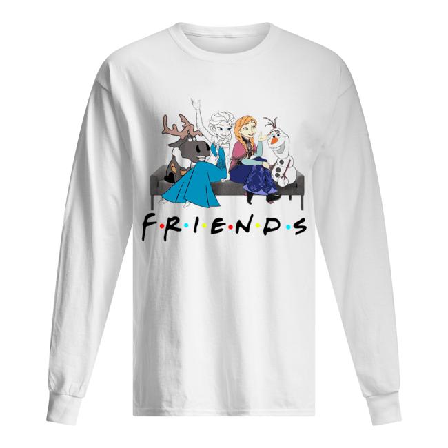 Friends TV show Frozen character  Long Sleeved T-shirt