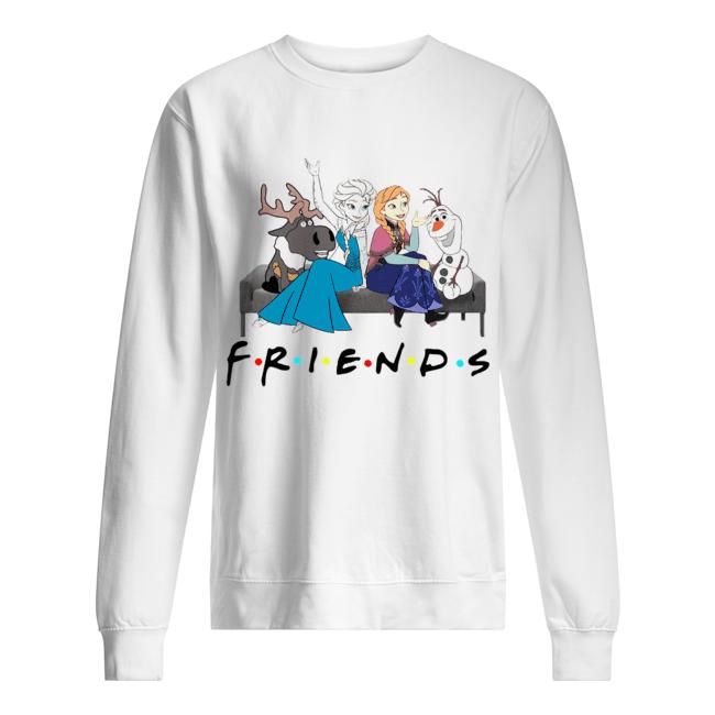 Friends TV show Frozen character  Unisex Sweatshirt