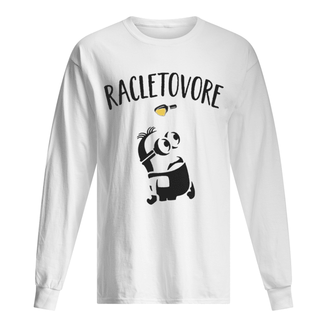 Minion Racletovore Shirt Long Sleeved T-shirt