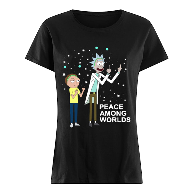 Rick & Morty Peace Among Worlds  Classic Women's T-shirt