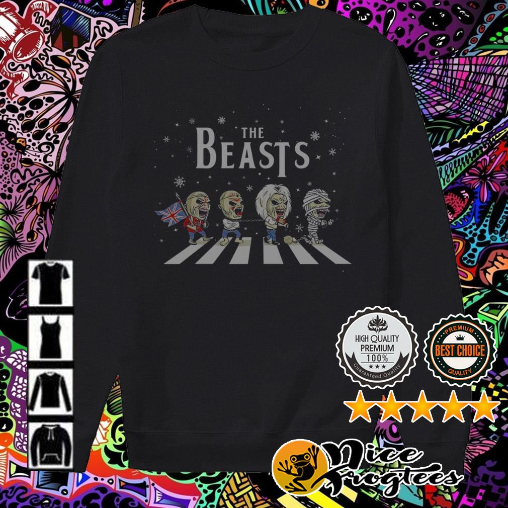 The Beasts Abbey Road horror Christmas sweater