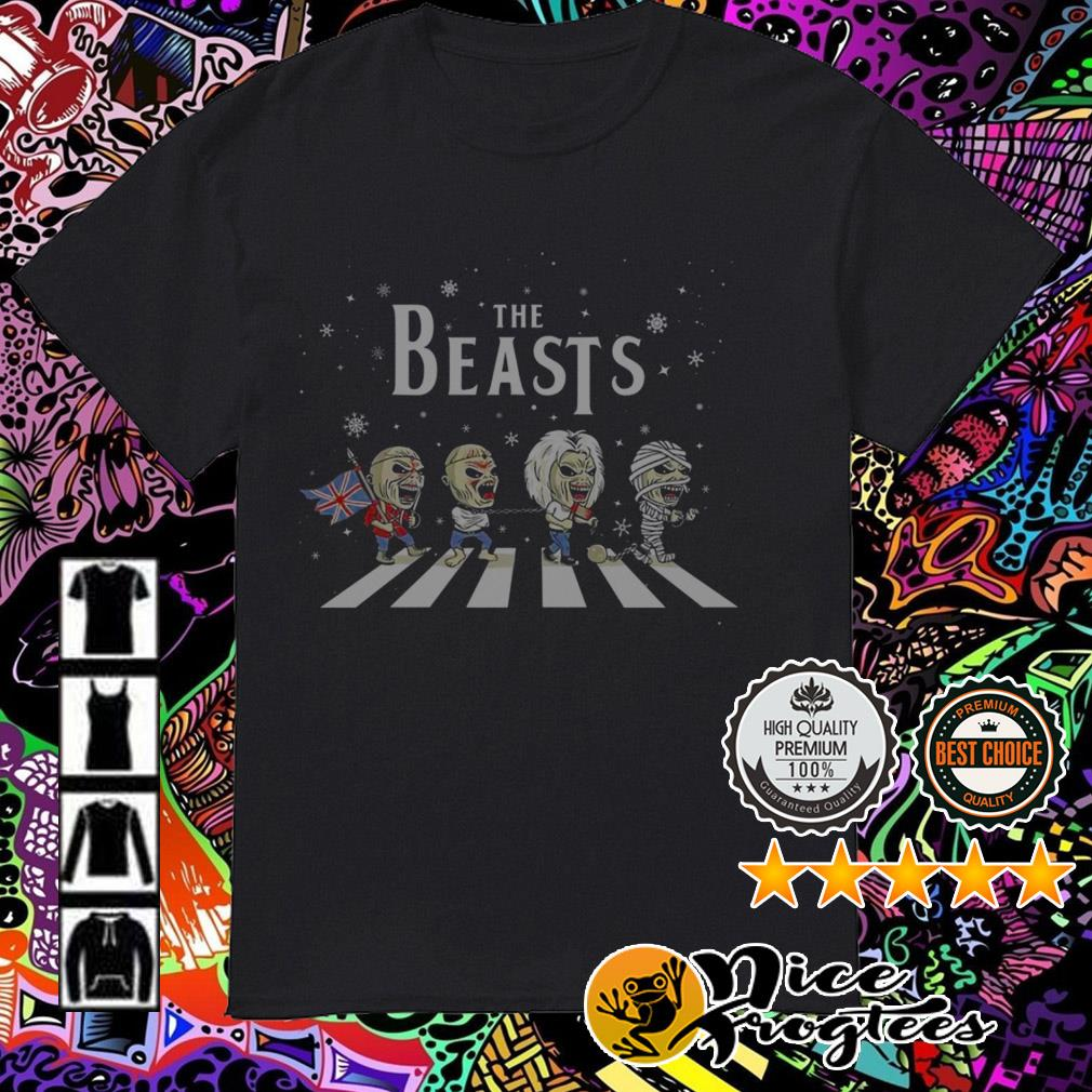 The Beasts Abbey Road horror Christmas guys shirt