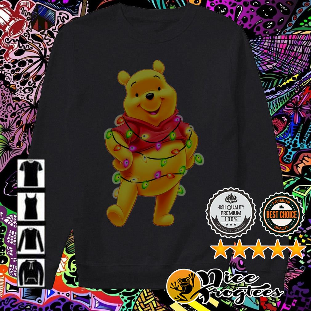 Winnie the Pooh Light Christmas sweater