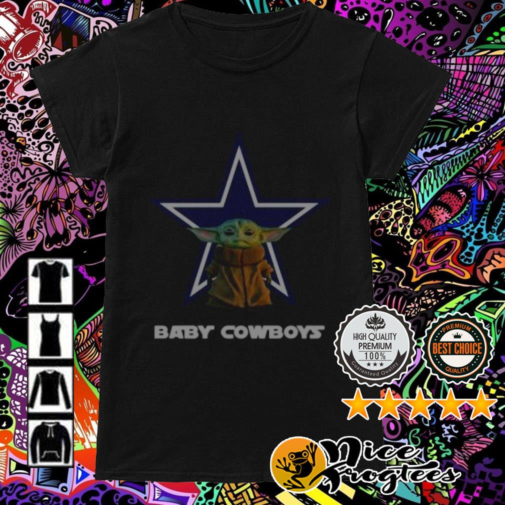 Baby Yoda Baby Cowboys Ladies Tee