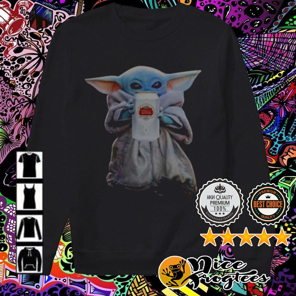 Baby Yoda Drink Stella Artois Sweater