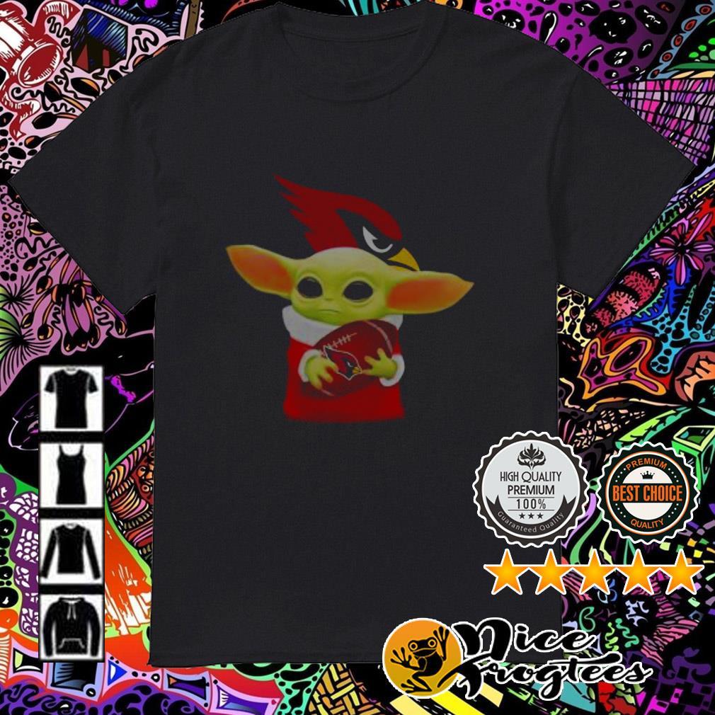 Baby Yoda Hug Arizona Cardinals shirt