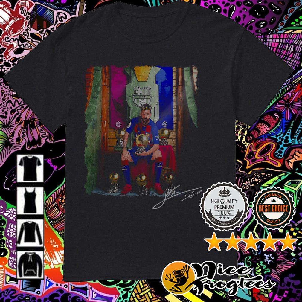 Barcelona Lionel Messi The King shirt
