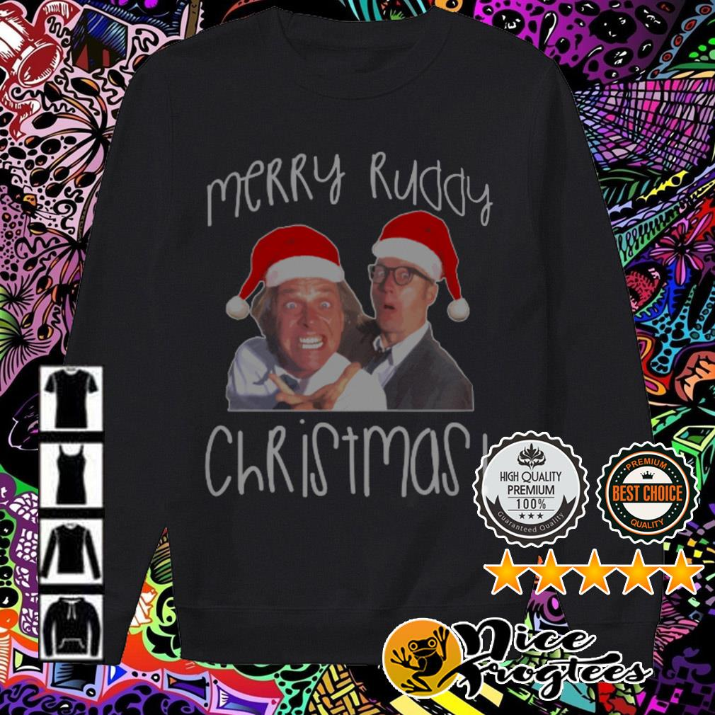 Bottom Richie And Eddie Santa Merry Ruddy Christmas sweater