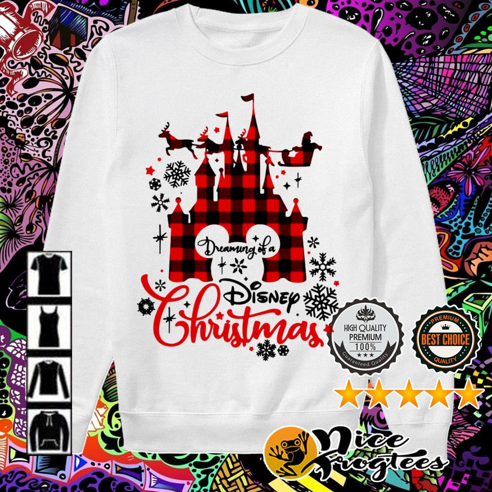 Dreaming of a Disney Christmas sweatshirt