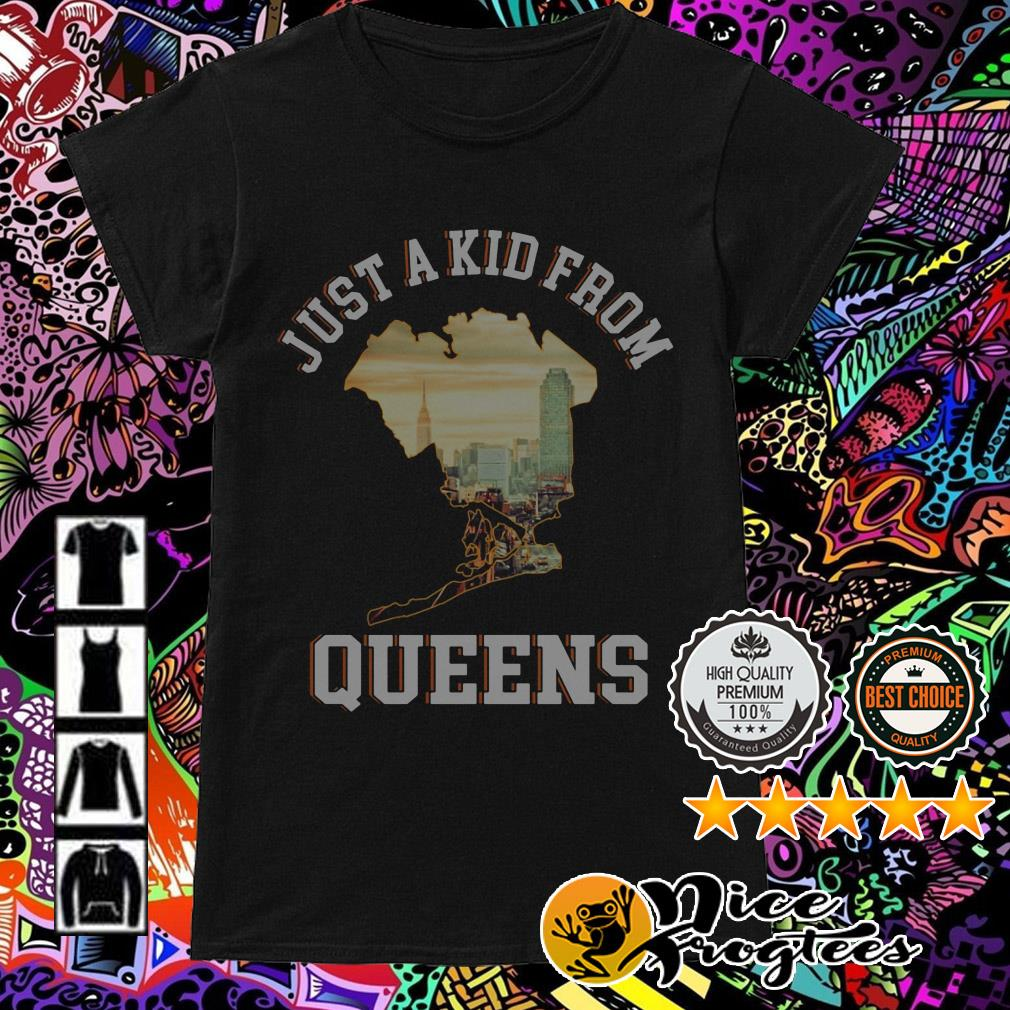 Just a kid from Queens Ladies Tee
