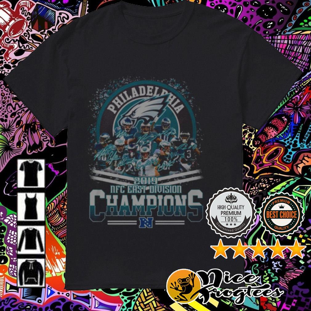 Philadelphia Eagles 2019 NFC East Division Champions shirt