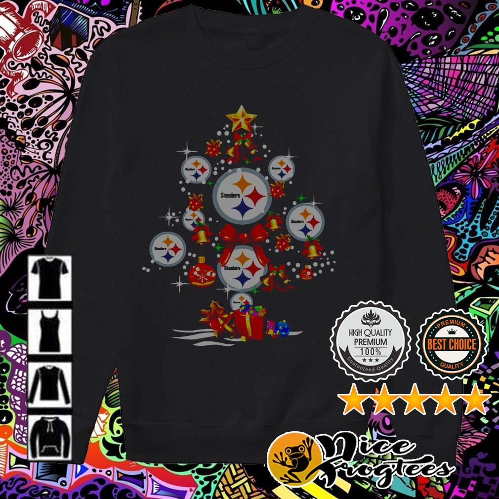 Pittsburgh Steelers Christmas Tree sweatshirt