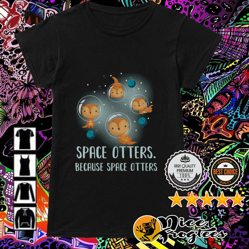 Space otters because space otters Ladies Tee