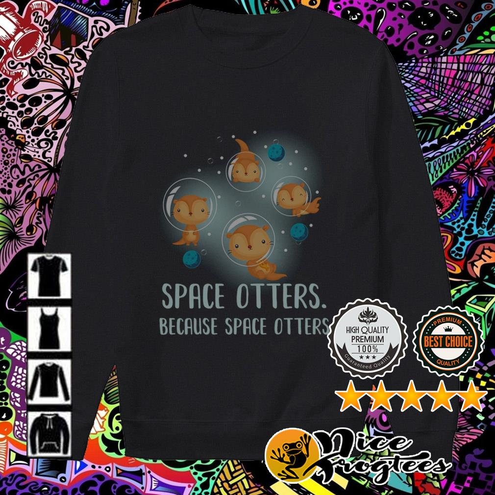 Space otters because space otters Sweater