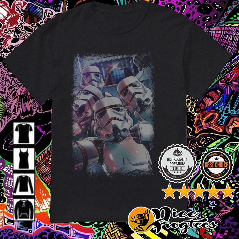 Star Wars Stormtroopers selfie shirt