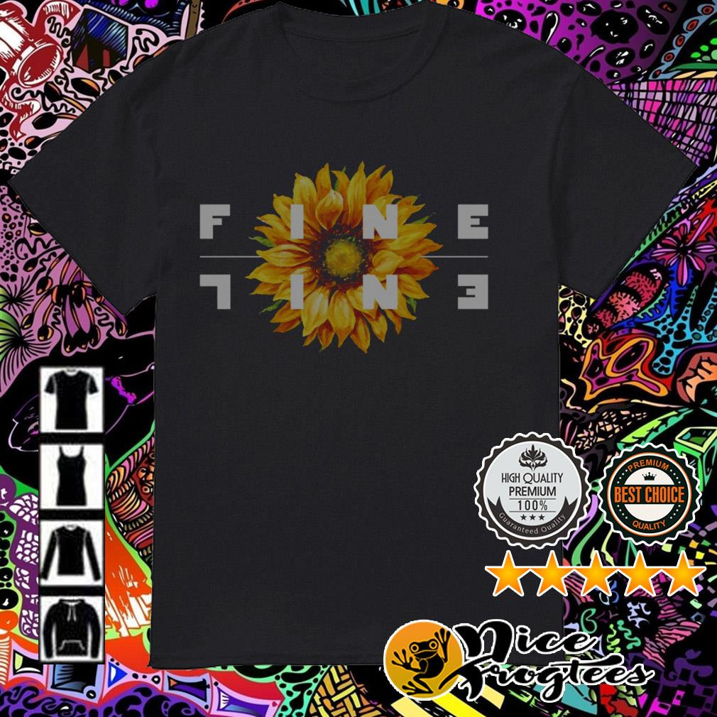 Sunflower Fine Line shirt