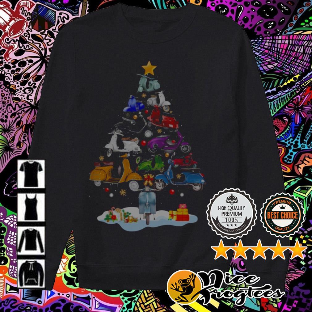 Vespa Piaggio Christmas tree Sweater