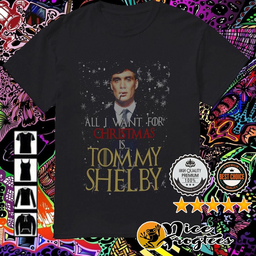 All I want for Christmas is Tommy Shelby sweatshirt