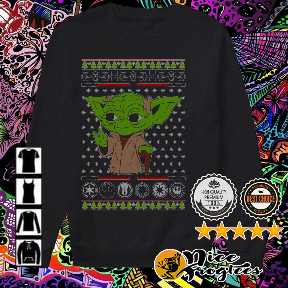 Yoda Star Wars Christmas Sweater