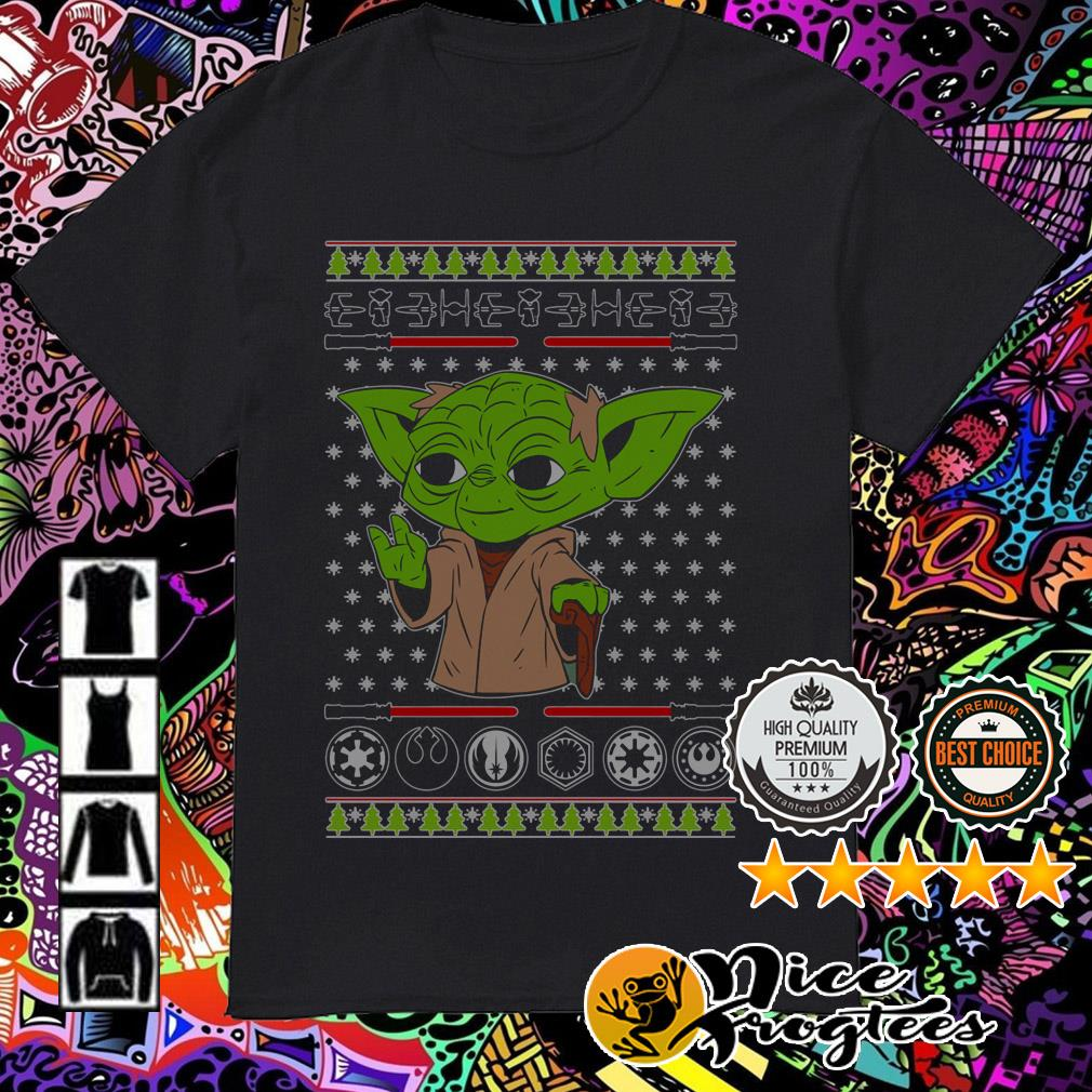 Yoda Star Wars Christmas sweatshirt