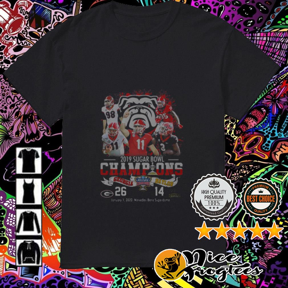 2019 Sugar Bowl Champions Georgia Bulldogs Baylor Bears shirt