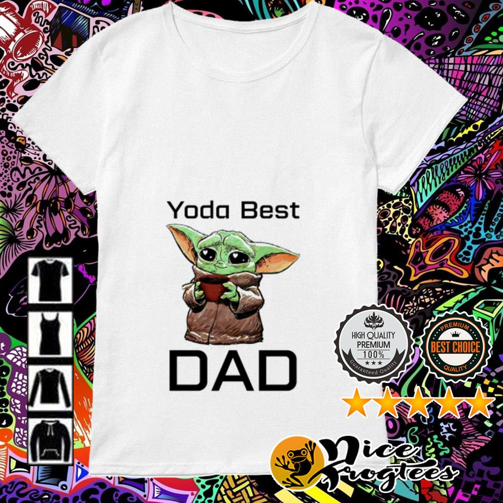 Baby Yoda best dad Ladies Tee