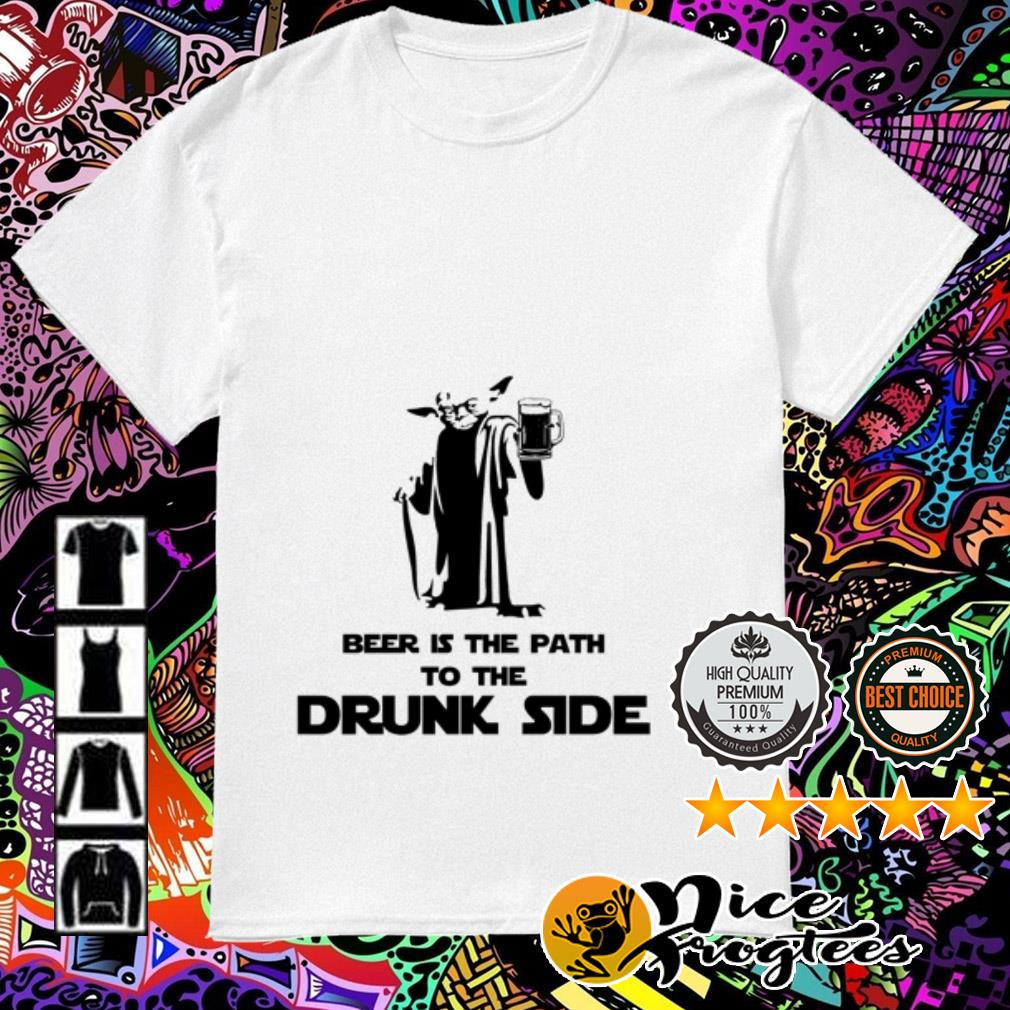Baby Yoda best is the path to the drunk side shirt