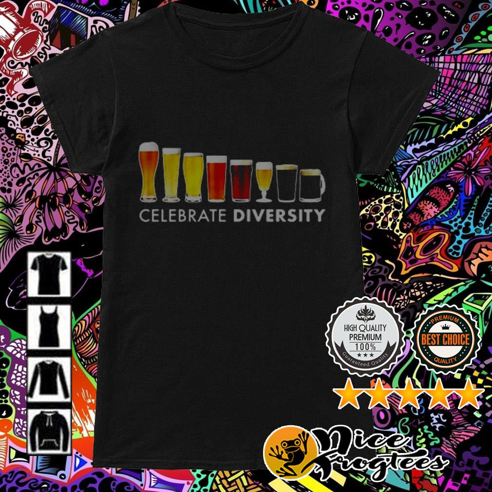 Celebrate Diversity Beer Ladies Tee