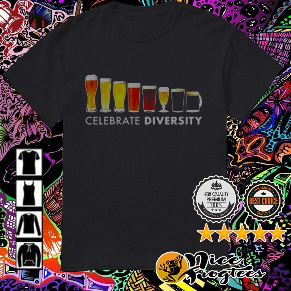 Celebrate Diversity Beer shirt