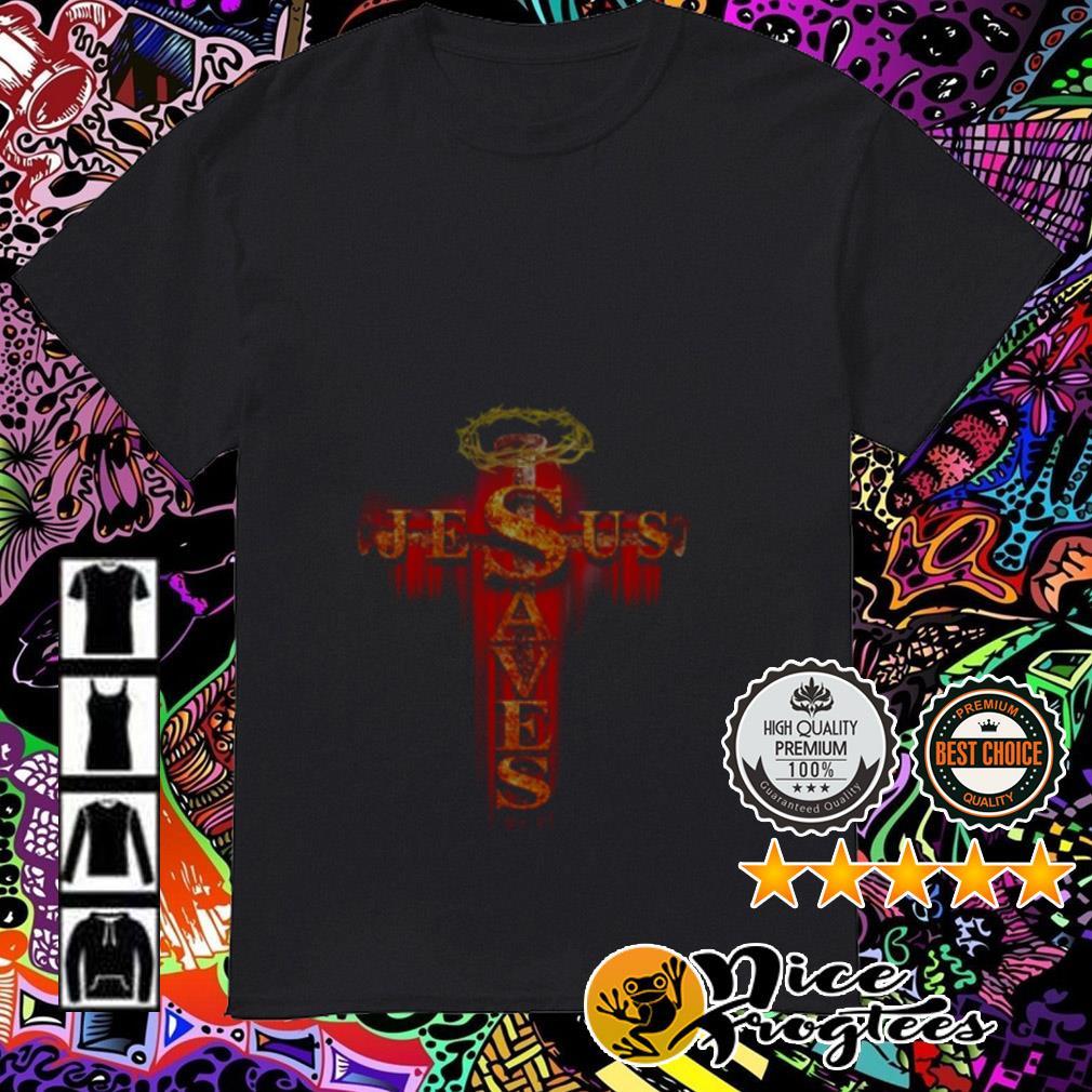 Cross Jesus Saves shirt