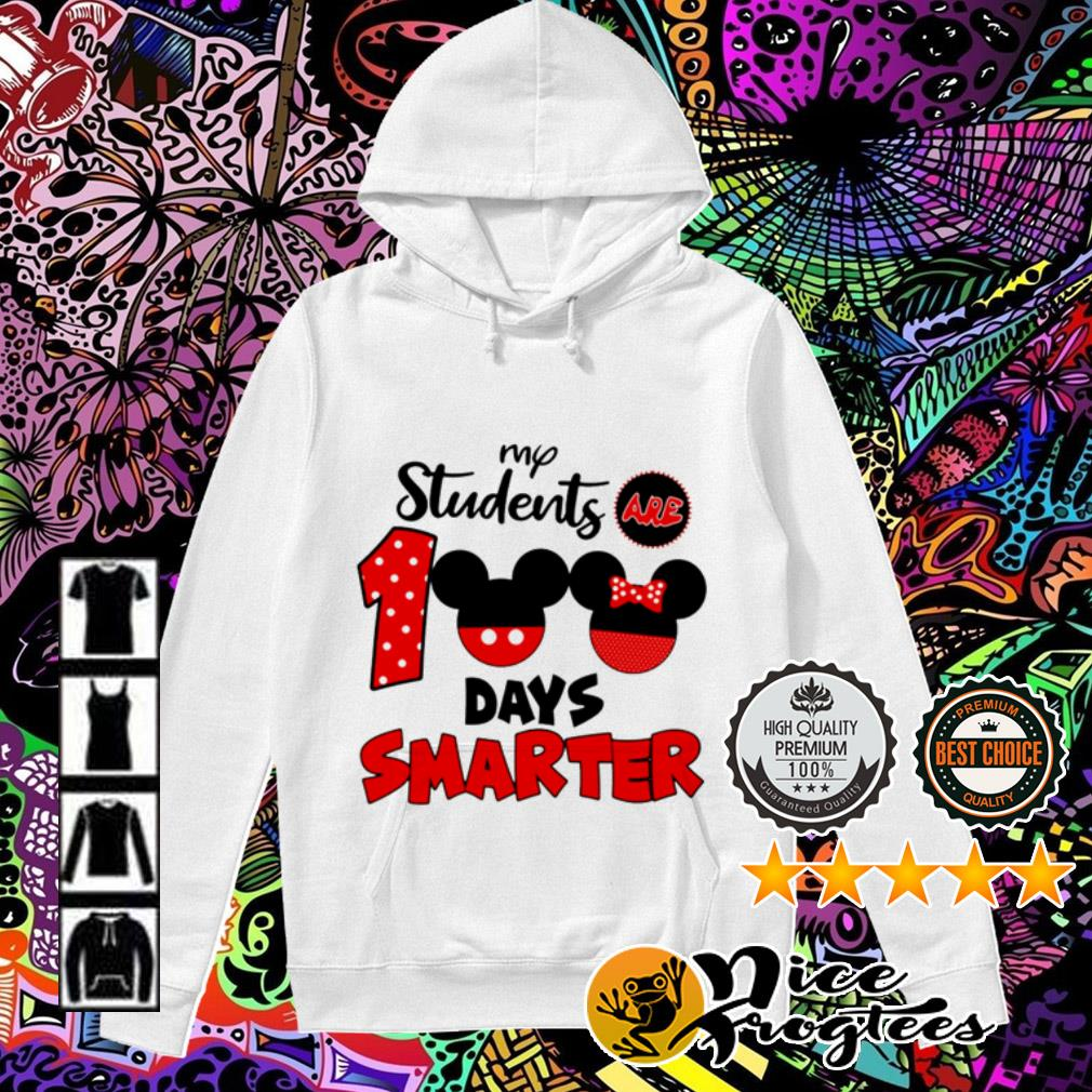 Disney My students are 100 days smarter Hoodie