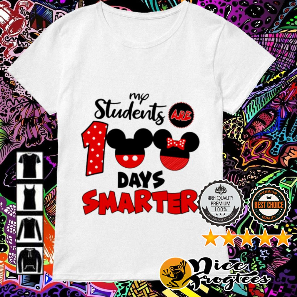 Disney My students are 100 days smarter Ladies Tee