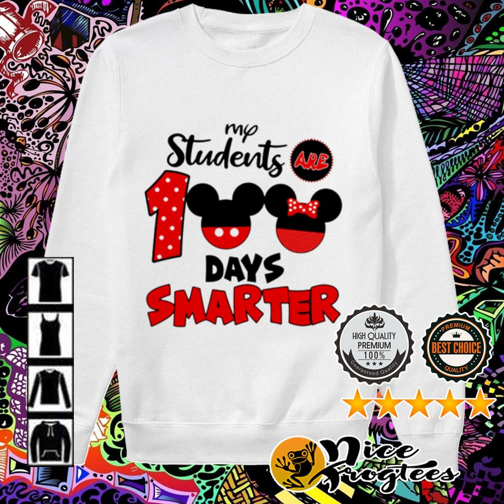 Disney My students are 100 days smarter Sweater