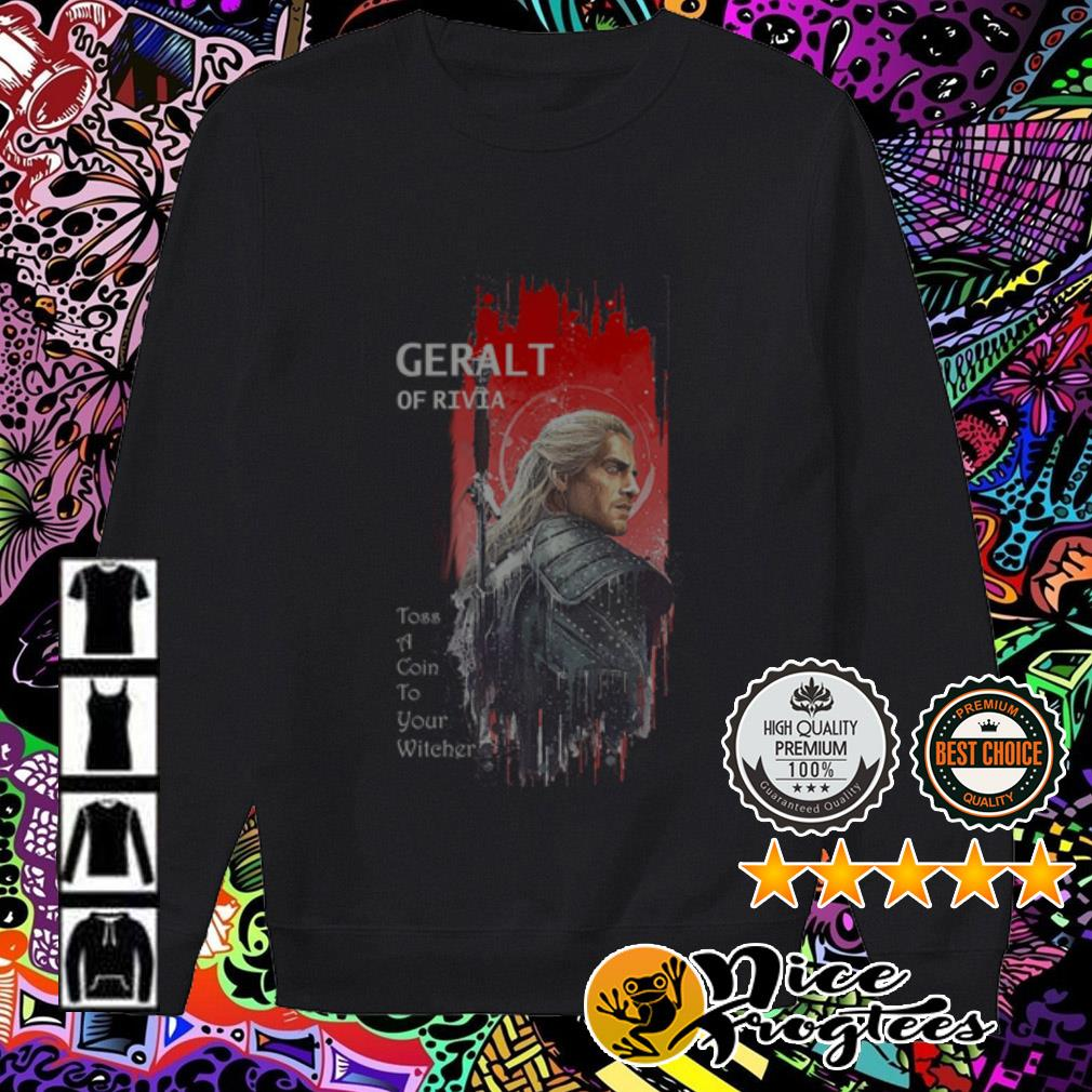 Geralt of Rivia Toss a Coin to your witcher Sweater