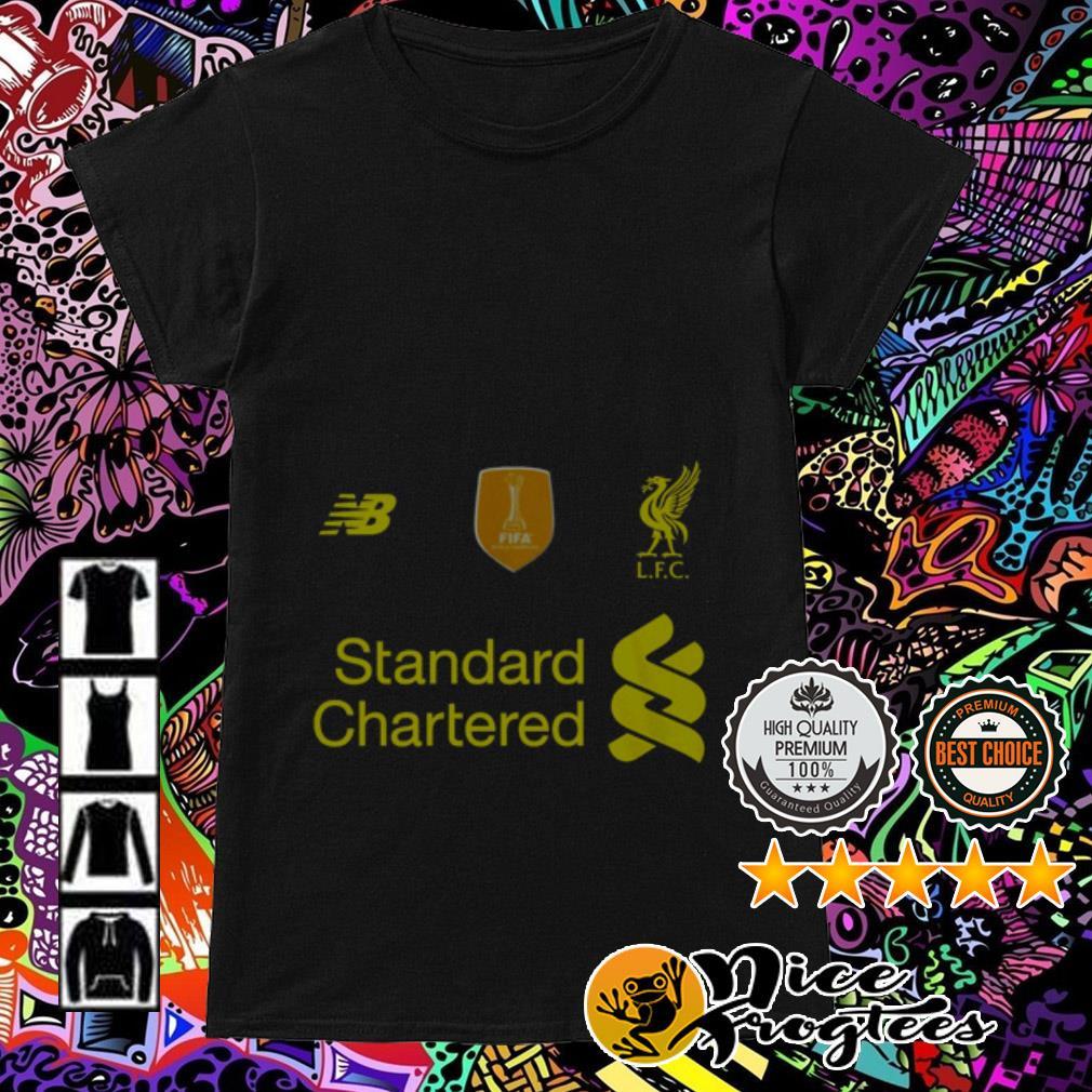 Liverpool FC Standard Chartered Ladies Tee