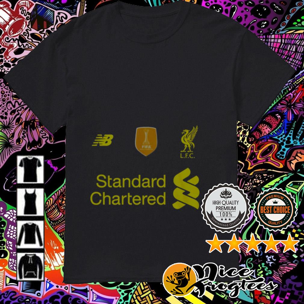 Liverpool FC Standard Chartered shirt