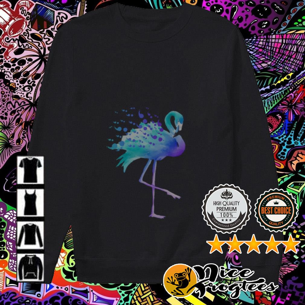 Official blue flamingo Sweater