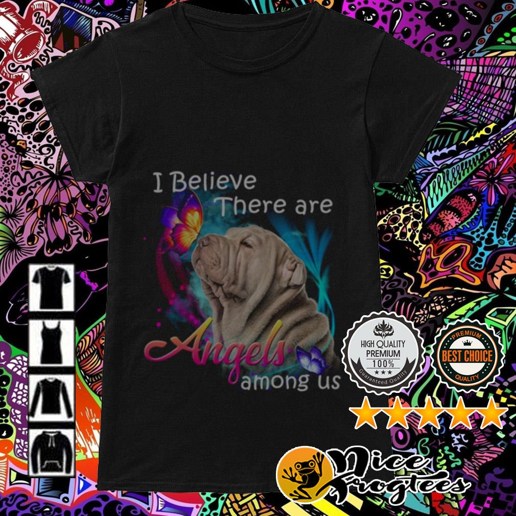 Pitbull I believe there are Angels among us Ladies Tee