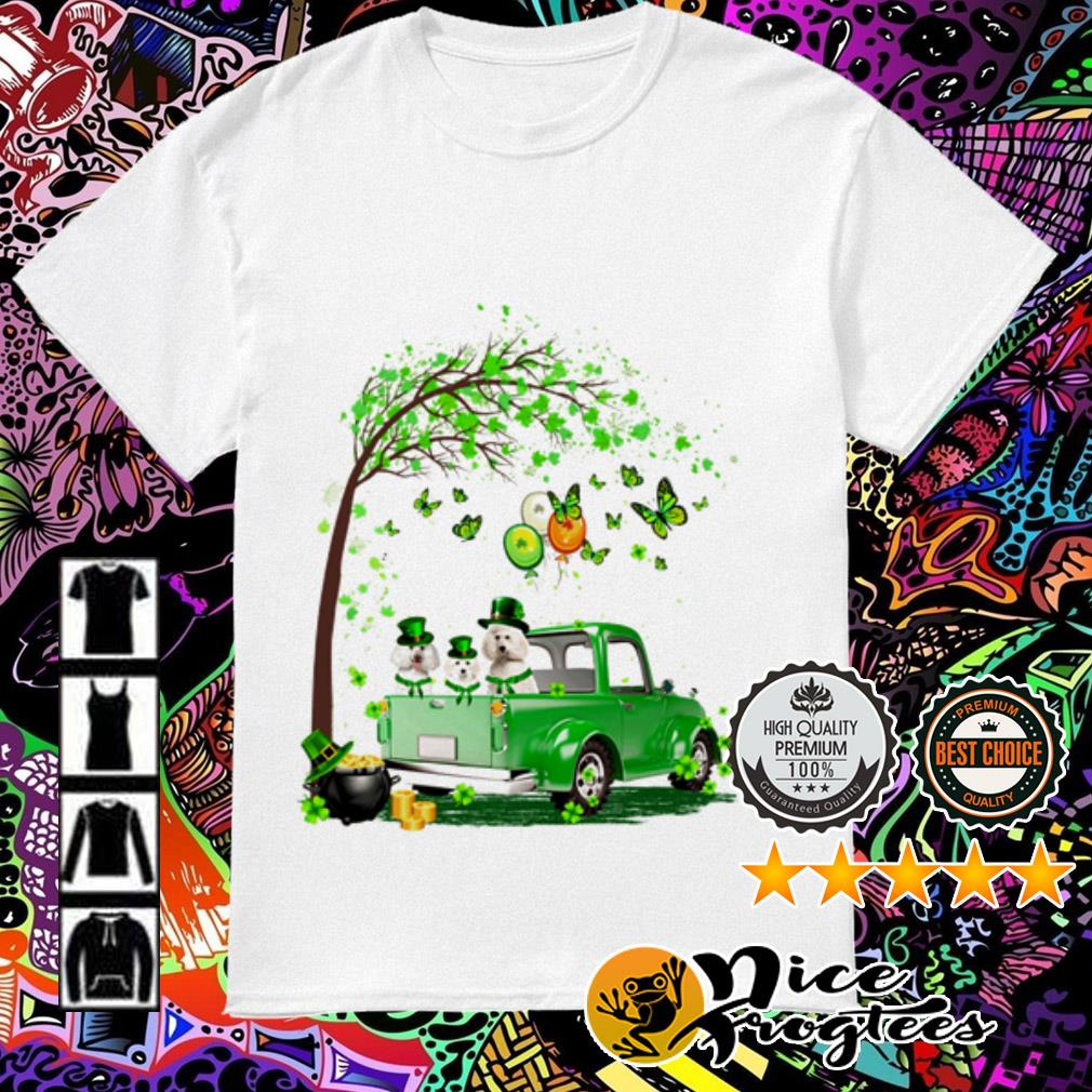 Poodle Truck St Patrick's Day shirt