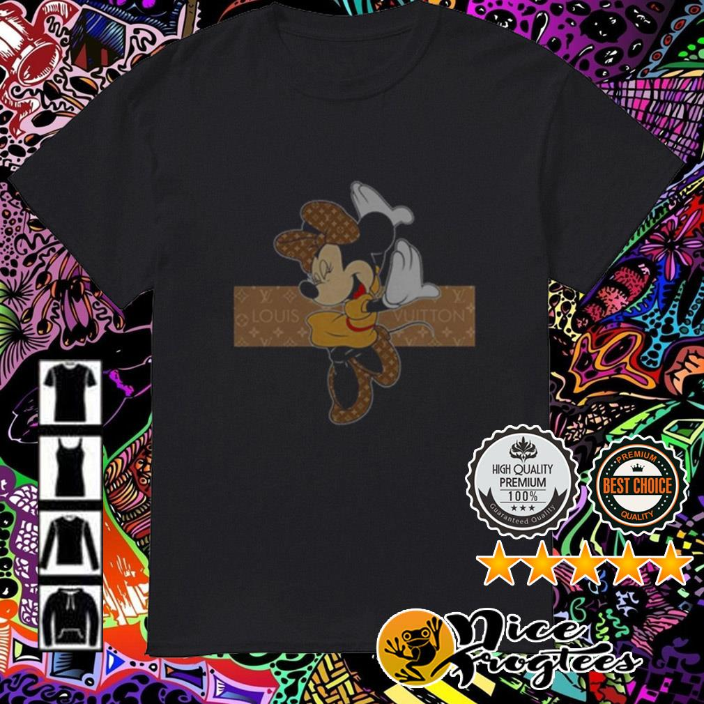 Disney Minnie Mouse wearing Louis Vuitton shirt