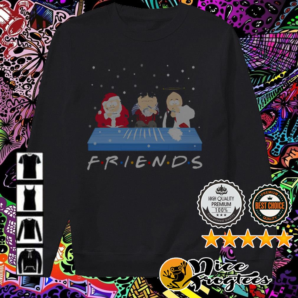 Tegridy Farms doing Cocaine Friends TV show sweatshirt